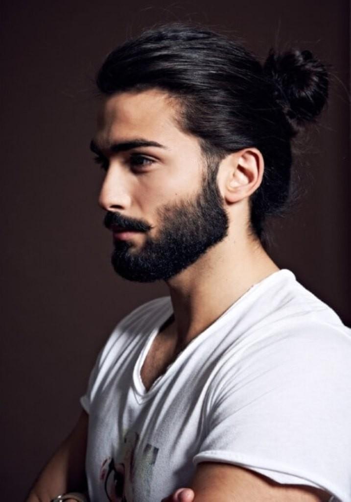 beard with man bun and top knot (5)