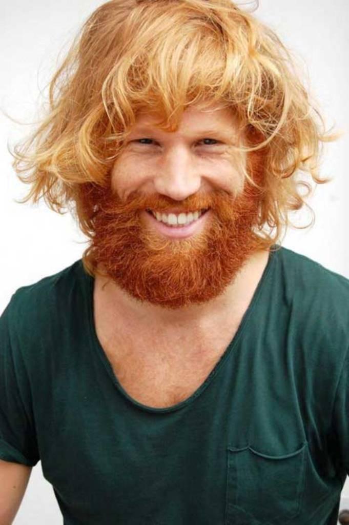 colored beard