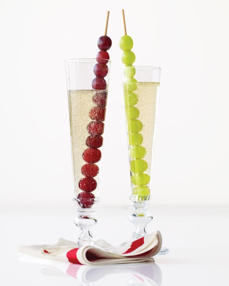 having 12 grapes