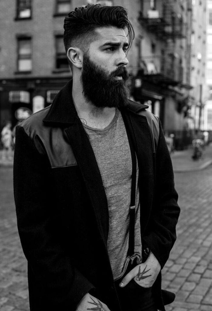 hipster beard