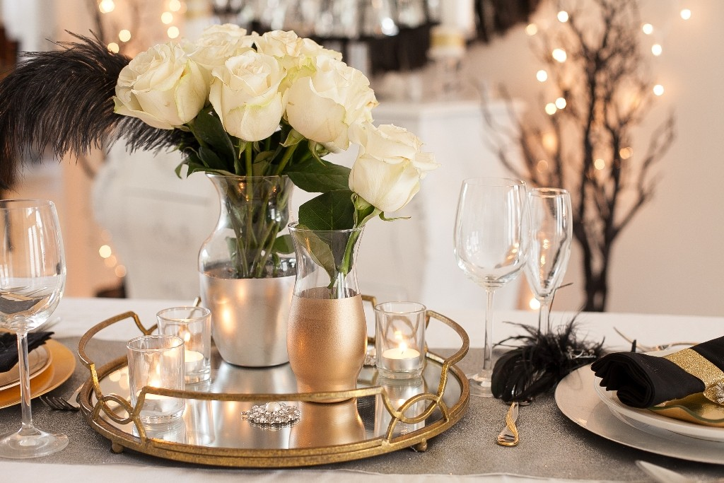 new years eve party centerpieces