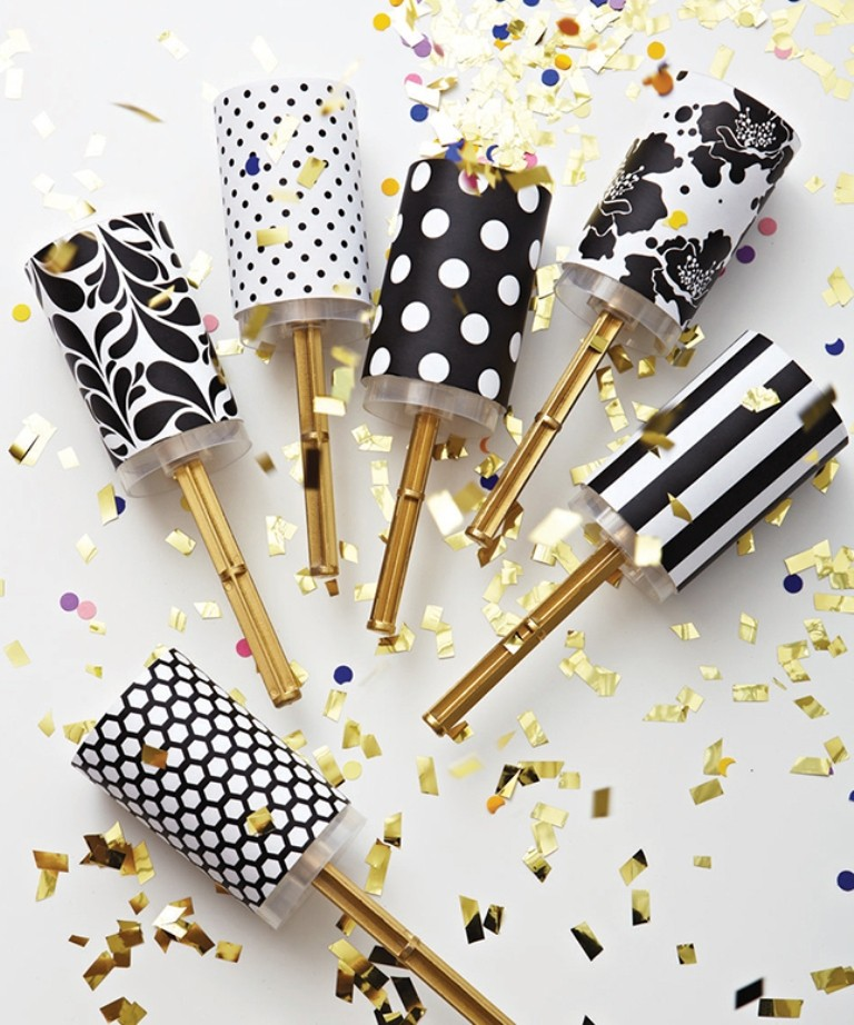 new years eve party confetti poppers