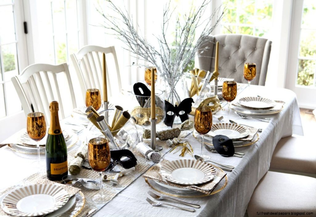 new years eve party table decoration (5)