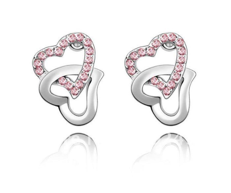 heart shaped earrings (2)