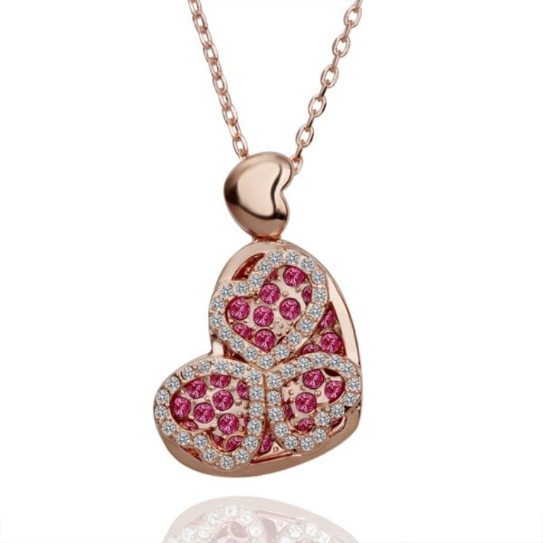 heart shaped necklaces (2)
