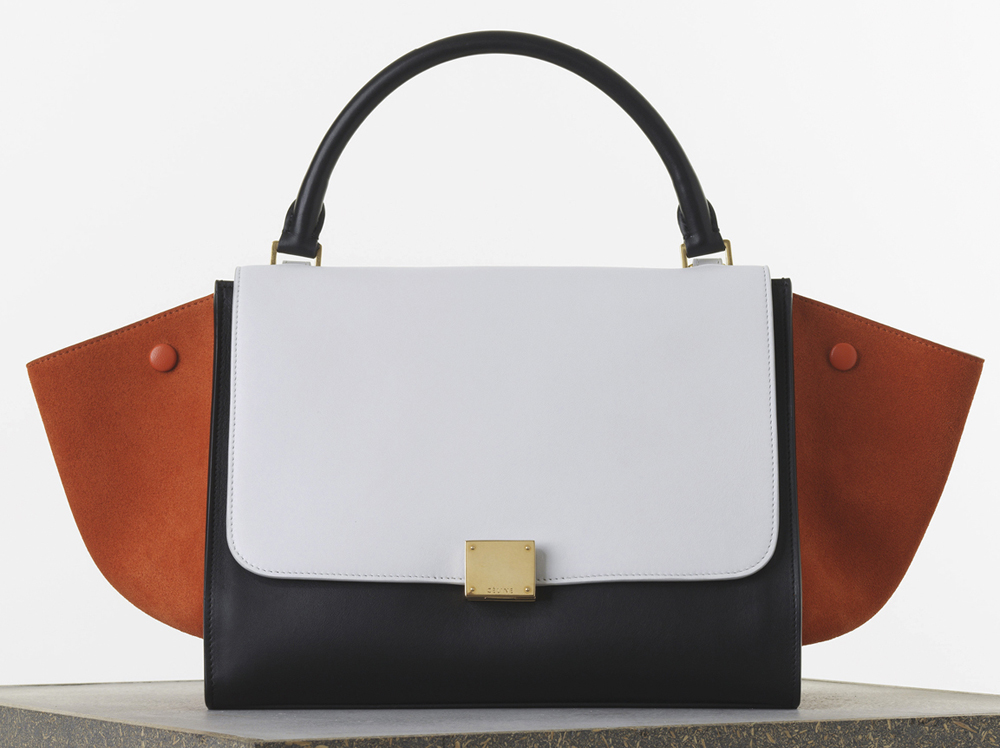 Celine-Medium-Tricolor-Trapeze-Bag-Smooth-Calf-2950