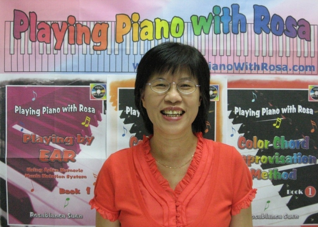 Learn Piano with Rosa Courses