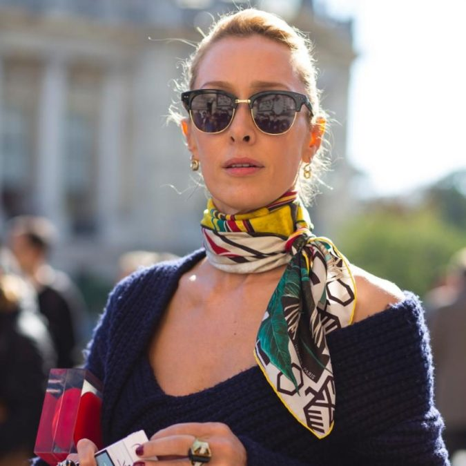 Neckerchief Top Fashion Trends for summer 2016
