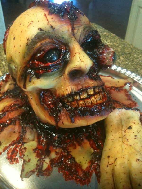 Skin peeled human face1