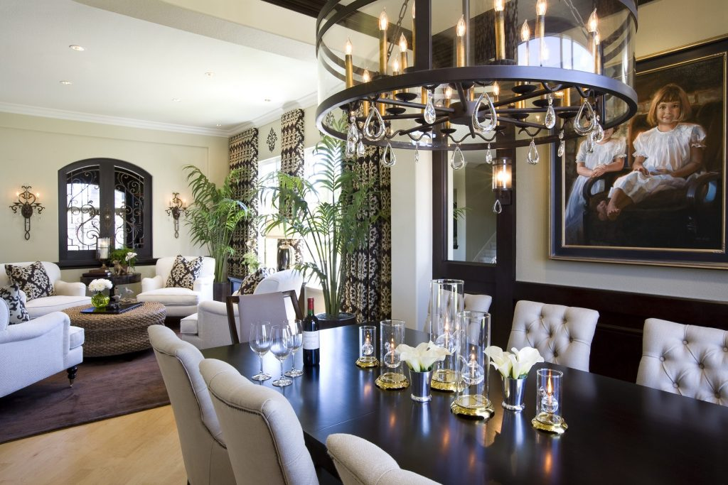 modern traditional home dining room robeson design