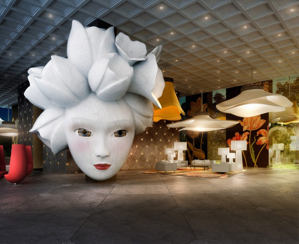 Marcel Wanders Quasar DeLuxeTower Lobby