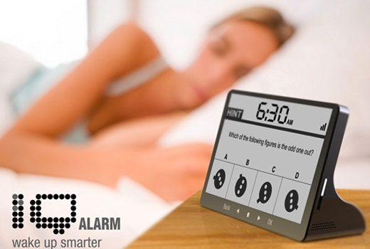 Brain Teasers IQ Alarm Clock