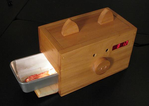 Delicious Hot Bacon Alarm Clock