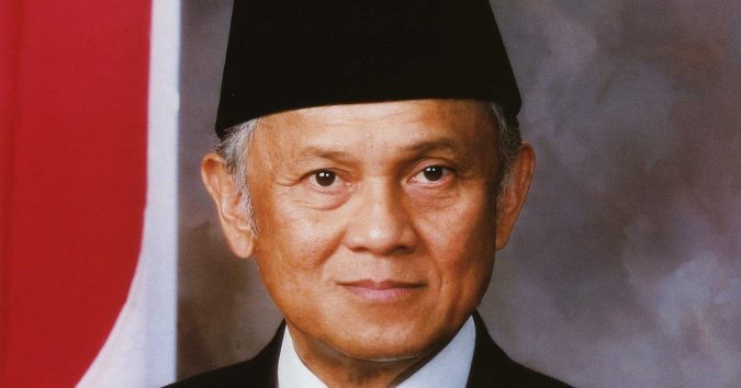 Dr. Ing. Bacharuddin Jusuf Habibie Smart Presidents With High IQ Score