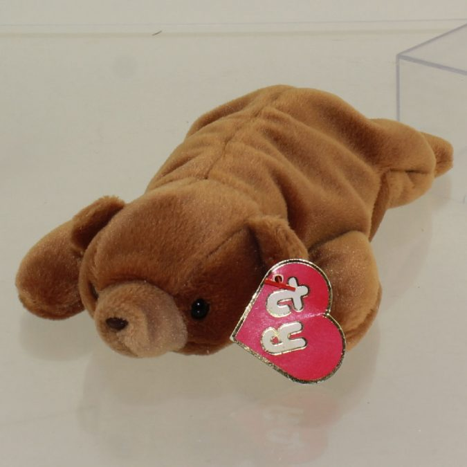 Brownie the Bear Beanie Baby1