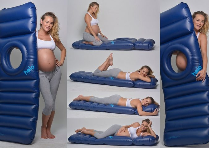 Holo - The Inflatable Maternity Pillow Raft with a Hole ...