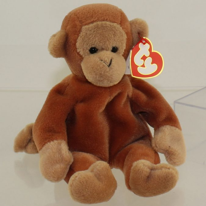 Nana the Monkey Beanie Baby1