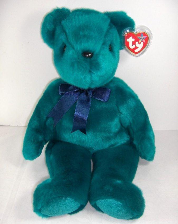 Old Face Teddy Beanie Baby2