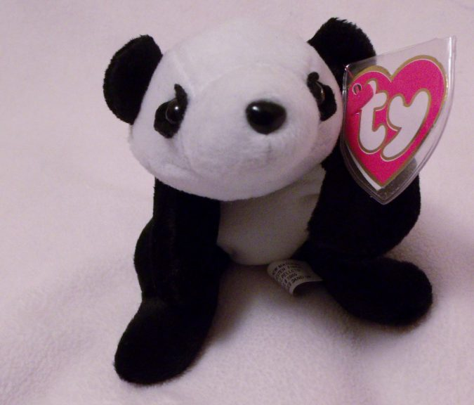Peking the Panda Beanie Baby2