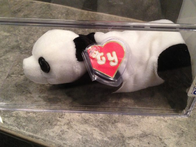 Peking the Panda Beanie Baby3