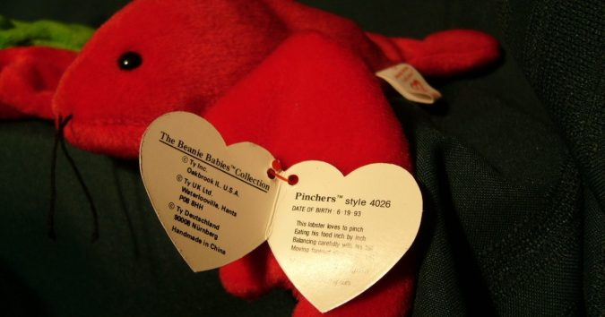Punchers the Lobster Beanie Baby1