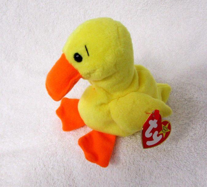 Quackers the Duck Beanie Baby