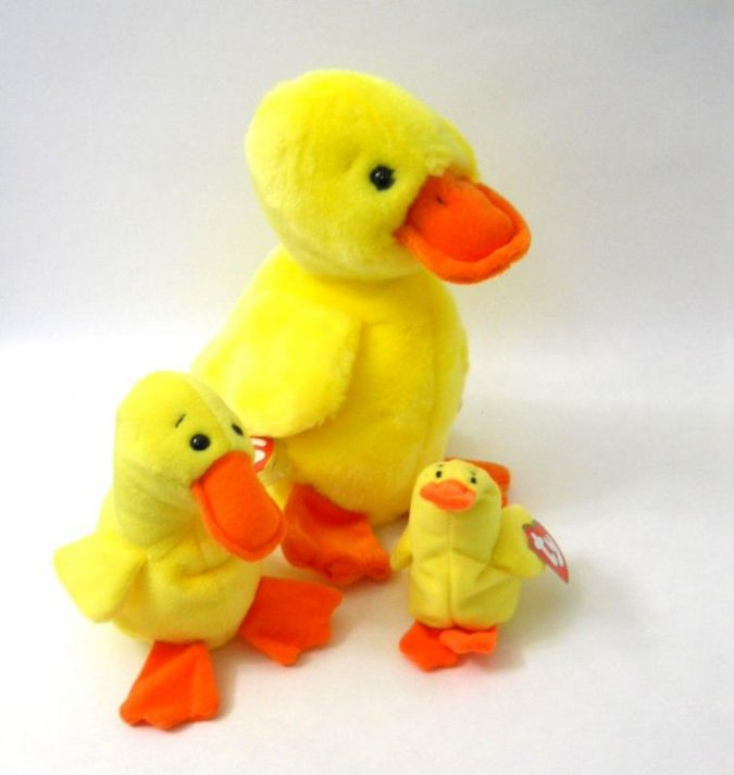 Quackers the Duck Beanie Baby1