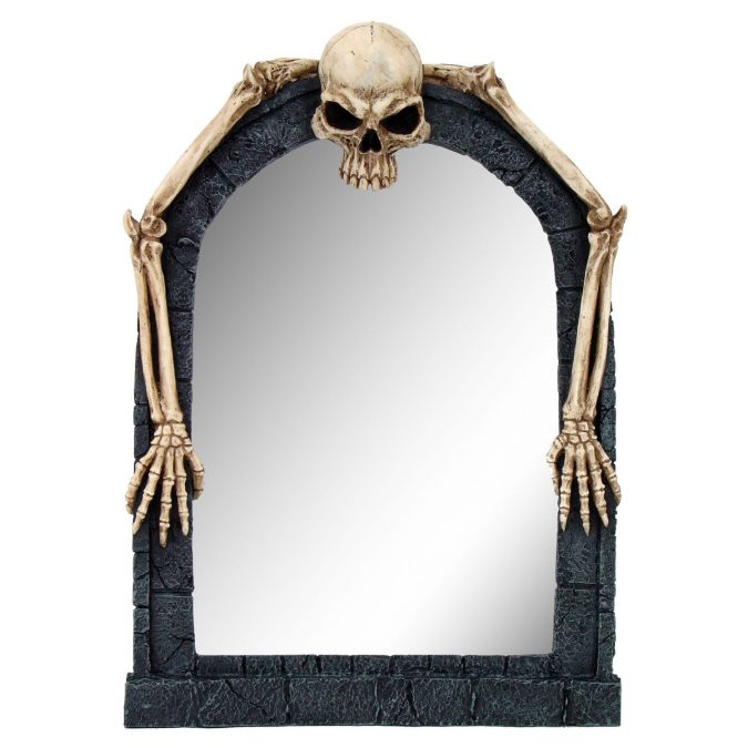Skull Unusual Mirror1