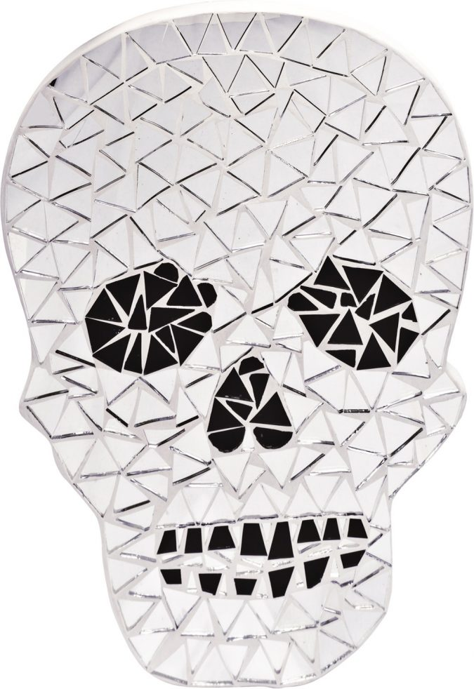 Skull Unusual Mirror2