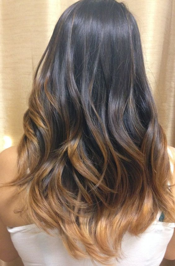 Sun-Kissed Ombre Hair Color1