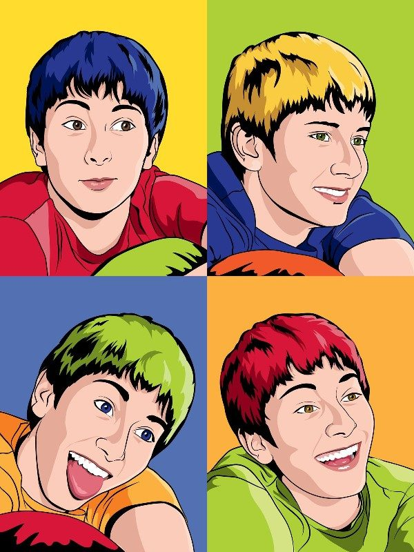 pop art in different styles (4)