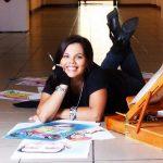 Caricaturista Cindy VEGA1