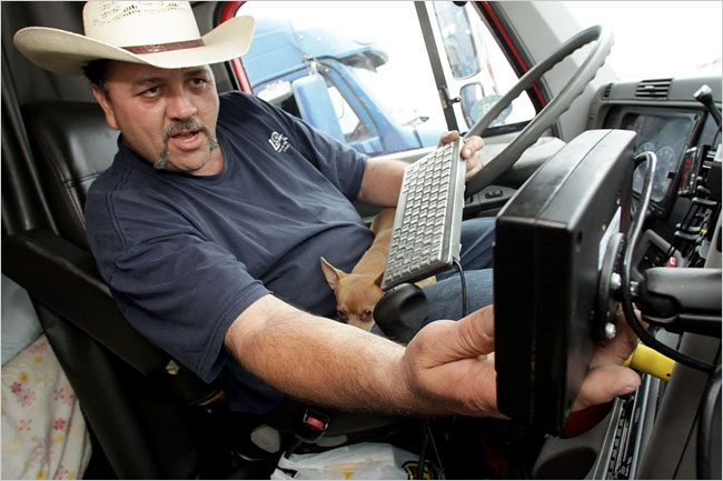 Distracted Driving for Truckers