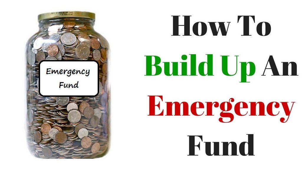 Set up an emergency fund