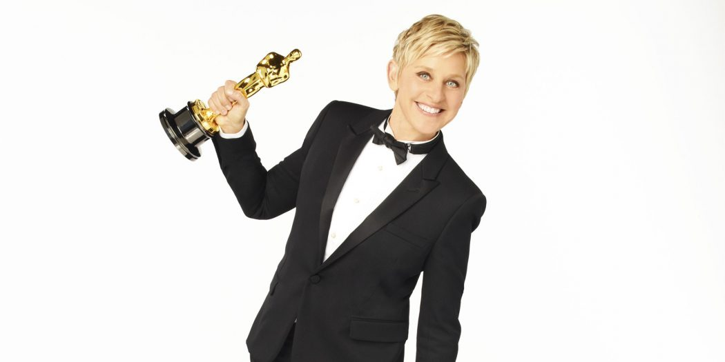 THE OSCARS(r) - Television icon Ellen DeGeneres returns to host the Oscars for a second time. The Academy Awards(r) for outstanding film achievements of 2013 will be presented on Oscar Sunday, March 2, 2014, at the Dolby Theatre(r) at Hollywood & Highland Center(r) and televised live on the ABC Television Network. (Photo by Andrew Eccles/ABC via Getty Images)