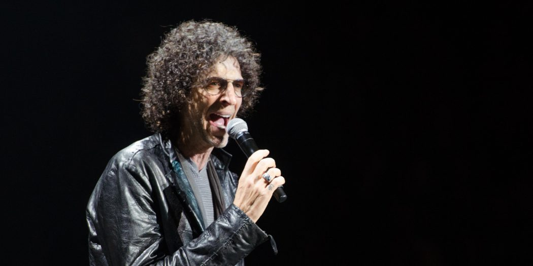 Radio personality, Howard Stern, introduces Billy Joel at Madison Square Garden on Friday, May 9, 2014, in New York. (Photo by Scott Roth/Invision/AP)