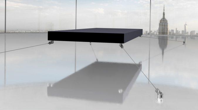magnetic-floating-bed