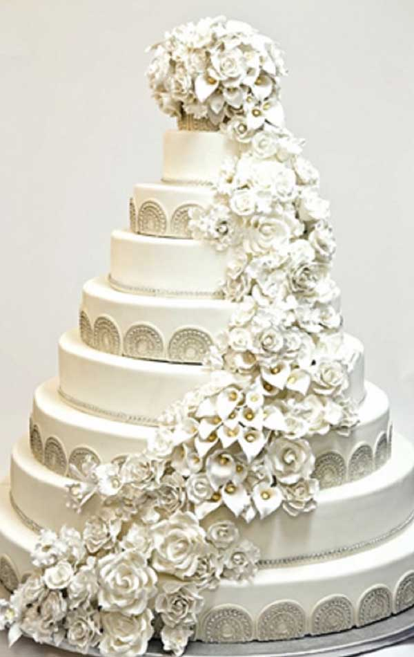 world s most extravagant wedding cakes top 10 world s most expensive wedding cakes 27637