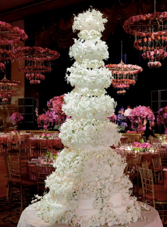 Top Worlds Most Expensive Celebrity Wedding Cakes Mocha News