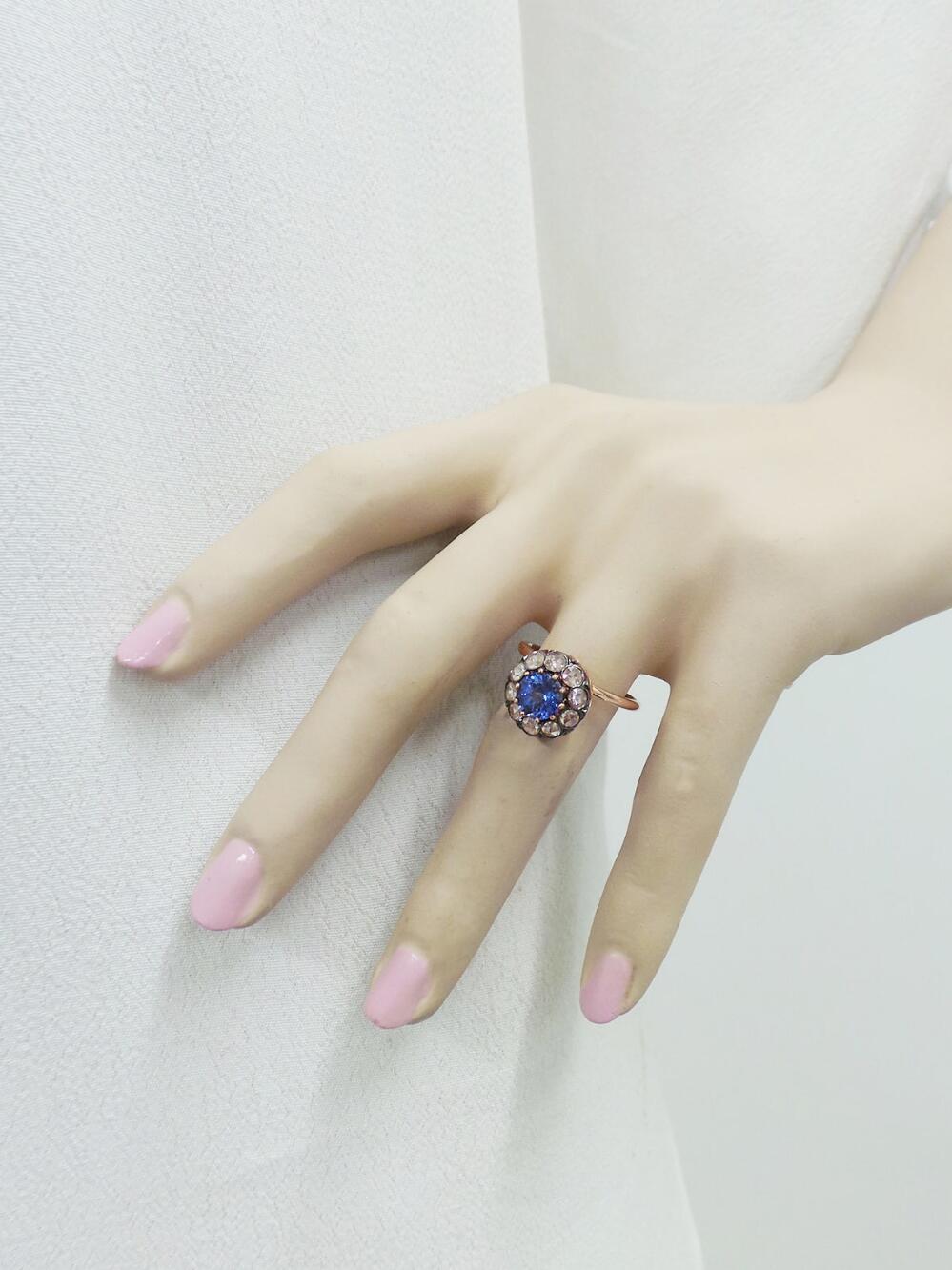 selim-mouzannar-large-diamond-and-tanzanite-ring2