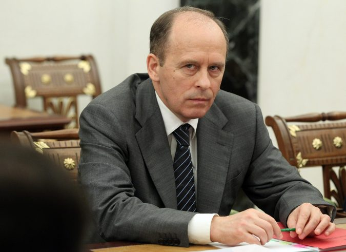 FSB chief Alexander Bortnikov