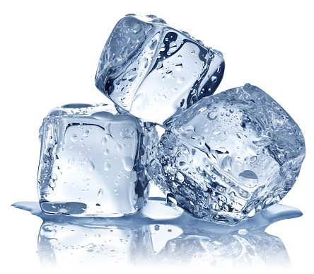 Drink-monitoring ice cubes