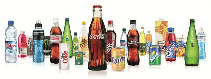 Coca-Cola white label products in USA