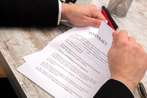 Grounds of Termination of Leasing Contract