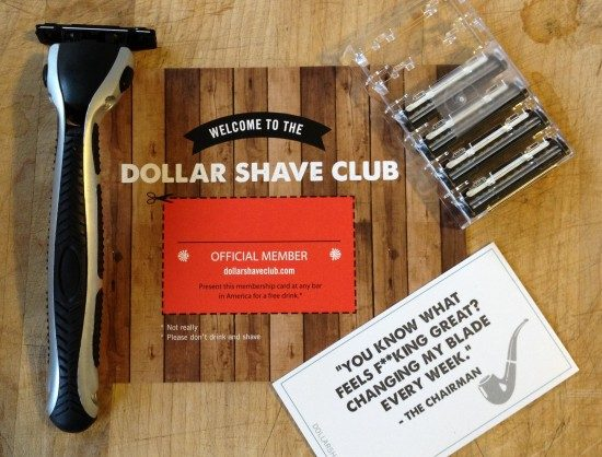 The Dollar Shave Club white label products