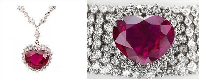 The Heart of the Kingdom Ruby Necklace
