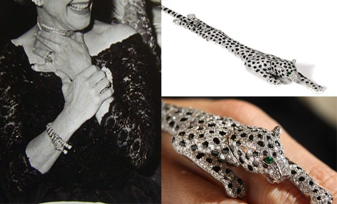 Wallis Simpson Panther Bracelet