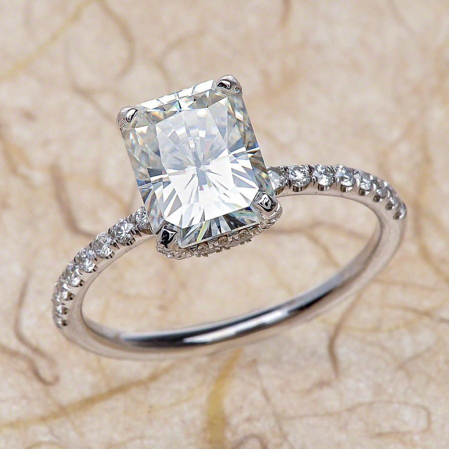 Affordable Moissanite Rings