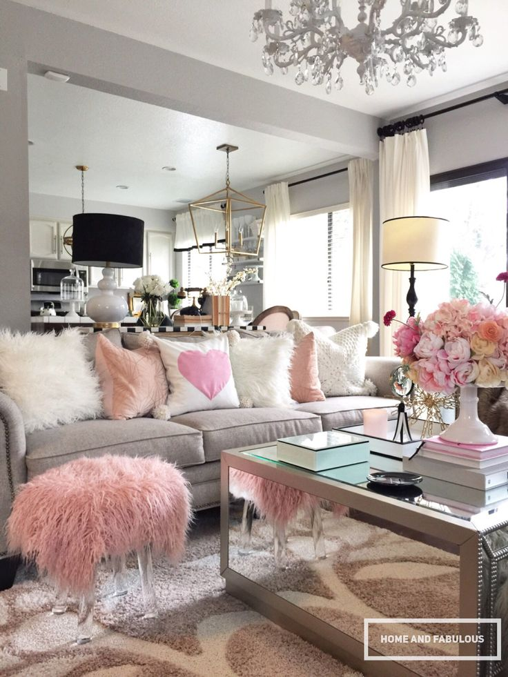 Top 10 hottest pink room design ideas for 2017 for Room decor home goods