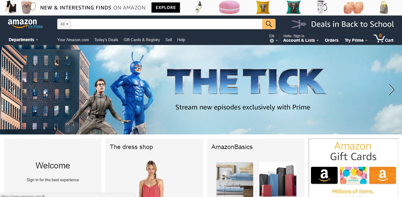 Top 10 Best Online Shopping Websites in USA - TopTeny Magazine